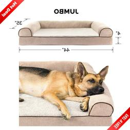 Big Dog Bed Sofa Pet Warm Couch Great Dane Orthopedic Cushio