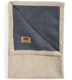 West Paw Design Big Sky Faux Suede/Silky Soft Pet Throw Blan