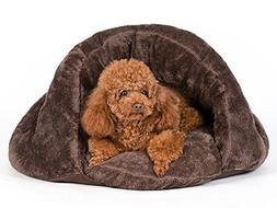 PLS Birdsong The Original Cuddle Pouch Pet Bed , Dog Cave, C
