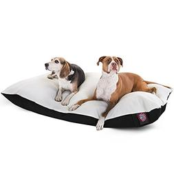 42x60 Black Rectangle Pet Dog Bed By Majestic Pet Products E