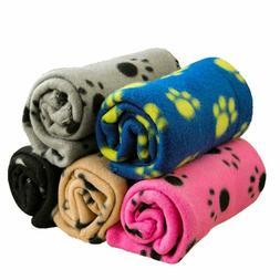 Pet Dog Bed Blanket Cotton Pas Printed Puppies Cat Plush Gro
