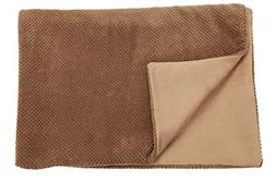 Big Blankie - Giant Khaki - Soft Plush Reversible Dog Blanke