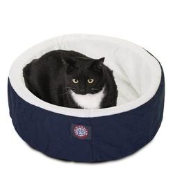 20 inch Blue Cat Cuddler Pet Cat Bed By Majestic Pet Product