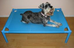 Blue Indoor, Outdoor and Travel Elevated Bed For Large Pet