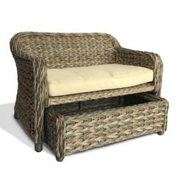 Bombay Royal Indoor/Outdoor Wicker Dog Day Bed