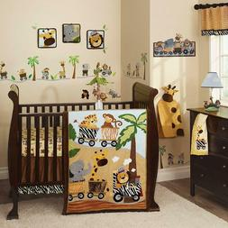 Lambs & Ivy Bow Wow 9-Piece Crib Bedding Set