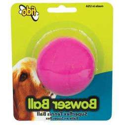 Fido Bowser Dog Ball, Vanilla Flavored, Tennis Ball - 2""