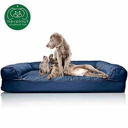 Brand New FurHaven Jumbo Quilted Orthopedic Sofa Pet Bed for