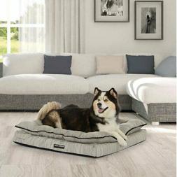 "Kirkland Signature Orthopedic Napper Dog Bed 36""X40"" Gray"