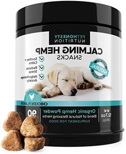 Hemp Calming Treats for Dogs - All-Natural Soothing Snacks w
