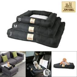 Car Back Seat Pet Dog Bed Cover Mat Safe Safety Travel Soft