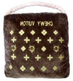 Chewy Vuiton Purse Novelty Plush Pet Bed