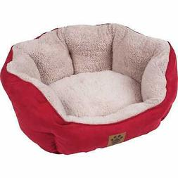 Precision Pet Clamshell Bed, Red