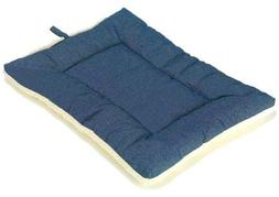 "Classic Sleep-ezz Pet Bed Fabric: Denim, Size: Small: 18"" W"