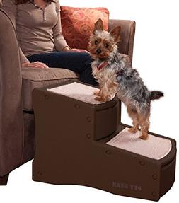 Pet Gear Cocoa Easy Step II Pet Stairs, Brown