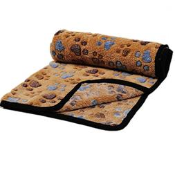 Colorful Soft Cozy Plush Fleece Pet Dog Cat Cushion Blanket