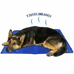 Cool Gel Pet Mat Dog Cat Bed Non Toxic Summer Heat Relief Cu