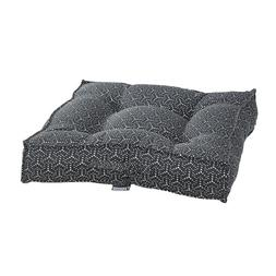 Bowsers COSMIC GREY Jacquard Tufted Square Piazza Nesting Do