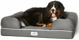 Pet Lounge Bed Couch Extra Large Dog Solid Memory Foam Base