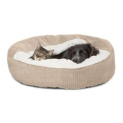 Best Friends by Sheri Cozy Cuddler in Mason Dog/Cat Bed, 26""
