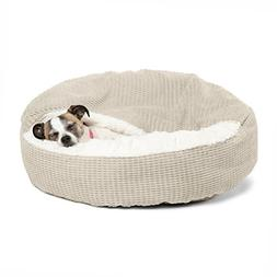 "Best Friends by Sheri Cozy Cuddler in Mason Dog/Cat Bed, 23"""