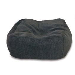 "K&H Pet Products Cuddle Cube Pet Bed Medium Gray 28"" x 28"""