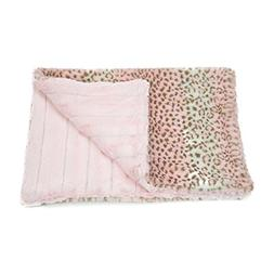 """Luca For Dogs Cuddle Mats Pet Blanket, Small 24""""x20""""x1"""", Pin"""