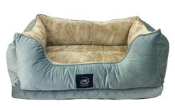 Serta Cuddler Dog Bed Blue