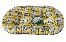 Iconic Pet Standard Pet Cushion, Medium, Yellow, Multi