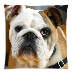 Polly Mercedes Custom Cotton Polyester Cute Bulldog with Big