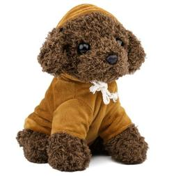 Cute Soft Plush Poodle Teddy Dog Figure,Kids Baby Bed Time S