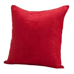 Deluxe Comfort Decorative Microsuede Throw Pillow