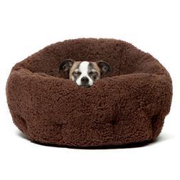 "Best Friends by Sheri Deep Dish Cuddler Pet Bed size: 17""L x"