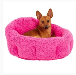 "Best Friends by Sheri Deep Dish Cuddler Pet Bed size: 17""L x"