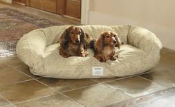 Deep Dish Toughchew Dog Bed / Medium Dogs 40-60 Lbs., Herrin
