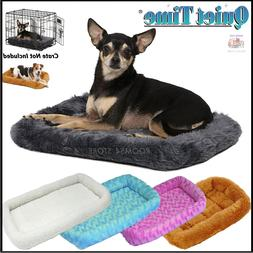 Deluxe Bolster Pet Ultra Soft Bed Small Extra Large Dogs Cat