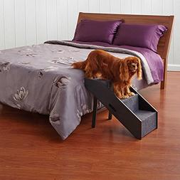 Deluxe Convertible Pet Step Animal Ramp Dog Stairs Easy Reac