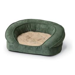 K&H Manufacturing Deluxe Ortho Bolster Sleeper X-Large Green
