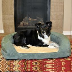 Deluxe Ortho Sleeper Bolster Dog Bed Size: Large , Color: Gr