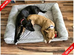 Extra Large Great Dane Dog Bed Deluxe Orthopedic Big Pet Mac