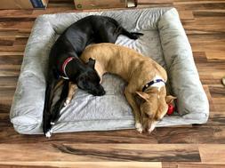 Extra Large Great Dane Dog Bed Deluxe Orthopedic Big Pet Mac