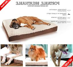 Extra Large Great Dane Dog Bed Deluxe Orthopedic Big Pet Plu
