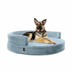 KOPEKS Deluxe Orthopedic Memory Foam ROUND Sofa Lounge Dog B