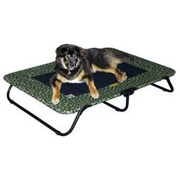 Designer Pet Cot in Sage Bone Size: Large