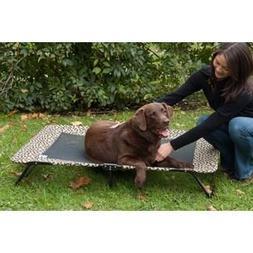 Designer Pet Cot in Tan Bone Size: Medium