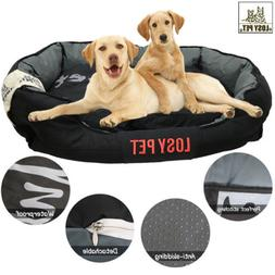 Detachable Wash Pet Dog Beds Waterproof Bottom Large Dog Sof