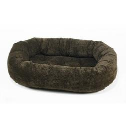 Diamond Microvelvet Donut Bed - Dog Days