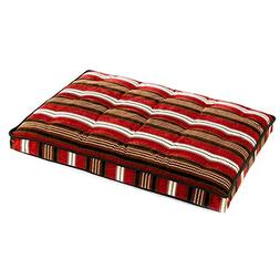 Diamond Microvelvet Luxury Crate Pet Mattress - Bowser Strip