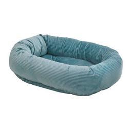 diamond series corduroy donut dog bed