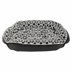 Bowsers Diamond Series Microvelvet Crescent Dog Bed